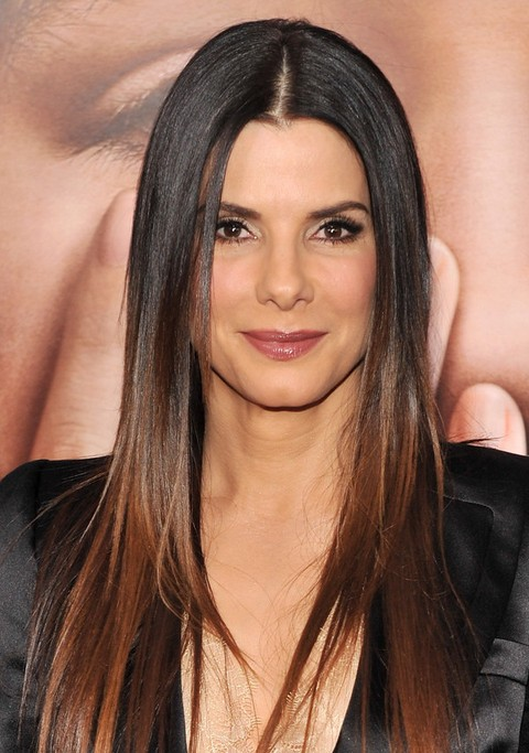 long hair everyday styles 25 bullock hairstyles bullock hair pictures 4269 | Sandra Bullock Long Hairstyle Straight Hair for Everyday