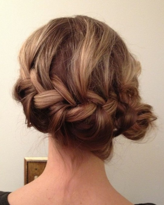 10 side bun tutorials low messy and braids updos