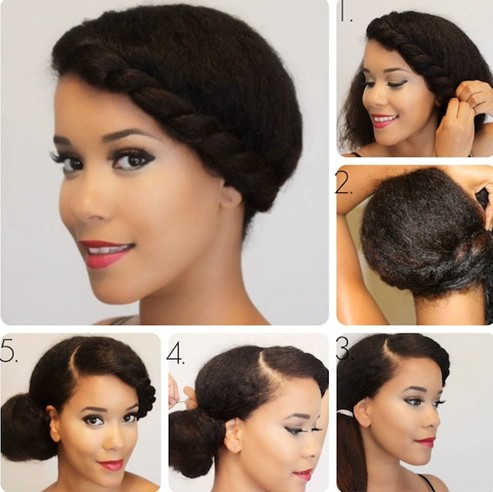 Wondrous 10 Side Bun Tutorials Low Messy And Braids Updos Pretty Designs Hairstyles For Men Maxibearus