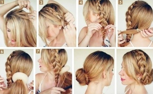 Side Bun Tutorials Updos With Braids