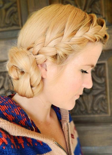 Astounding 10 Side Bun Tutorials Low Messy And Braids Updos Pretty Designs Short Hairstyles Gunalazisus