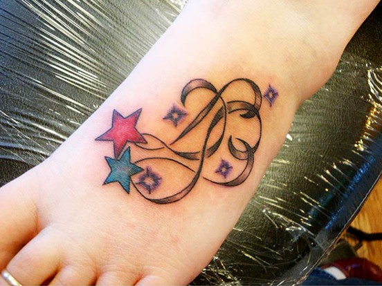 30 hottest star tattoo designs pretty designs for Free tattoo design