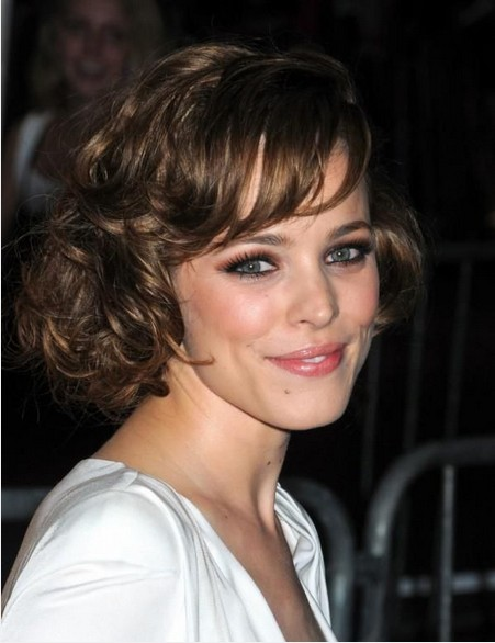 Adorable Curly Hairstyles for Mid-length Hair - Pretty Designs