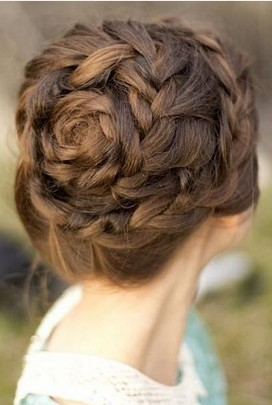 Strange Fantastic Braided Updo Hairstyles For 2014 Pretty Designs Hairstyle Inspiration Daily Dogsangcom