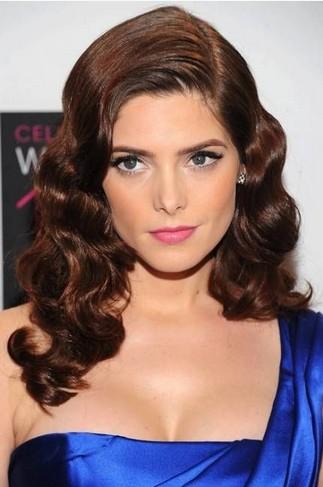 Phenomenal Most Glamorous Vintage Hairstyle Veronica Lake Curls Pretty Short Hairstyles Gunalazisus