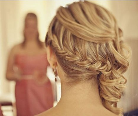 The Gorgeous Dutch Braided Ponytail Updo for Wedding Hairstyles