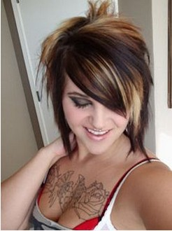 Surprising 5 Eye Catching Short Emo Hairstyles For Teenager Girls Pretty Short Hairstyles For Black Women Fulllsitofus
