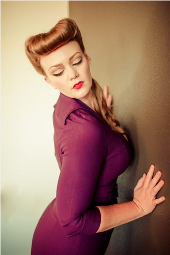 Vintage Pin Up Hairstyles For Women Pretty Designs