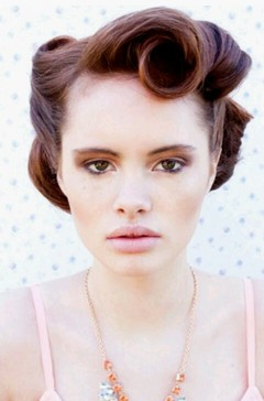 Amazing Vintage Pin Up Hairstyles For Women Pretty Designs Hairstyles For Men Maxibearus