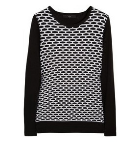 A Classic Black and White Sweaters Collection for Spring 2014 ...