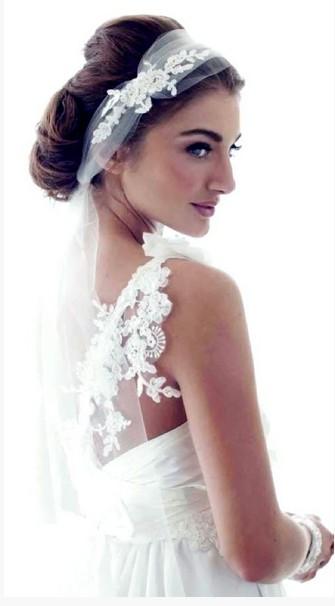 Surprising 4 Romantic Wedding Hairstyles With Veils Pretty Designs Short Hairstyles For Black Women Fulllsitofus