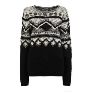 Warehouse Novelty Jumper, Multicolored