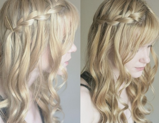 8 Cute Waterfall Twist Tutorial Long Hairstyles Ideas Pretty Designs