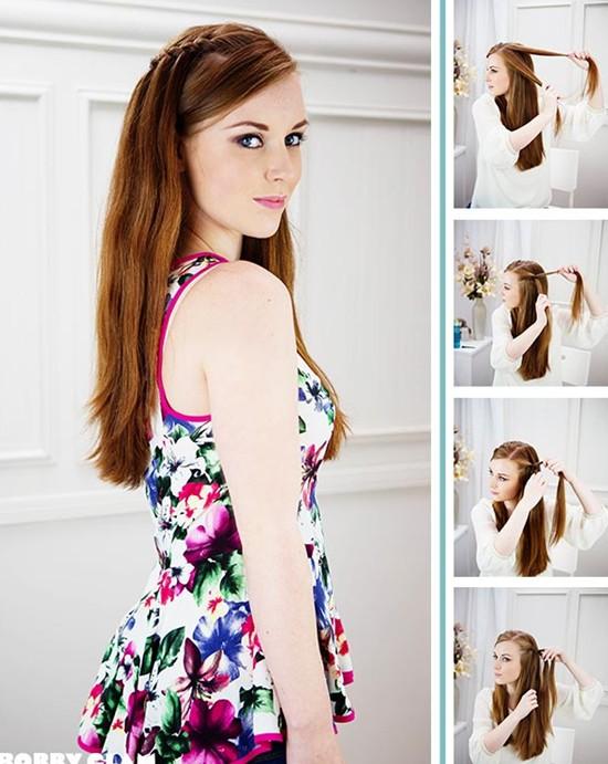 Excellent 8 Cute Waterfall Twist Tutorial Long Hairstyles Ideas Pretty Hairstyles For Women Draintrainus