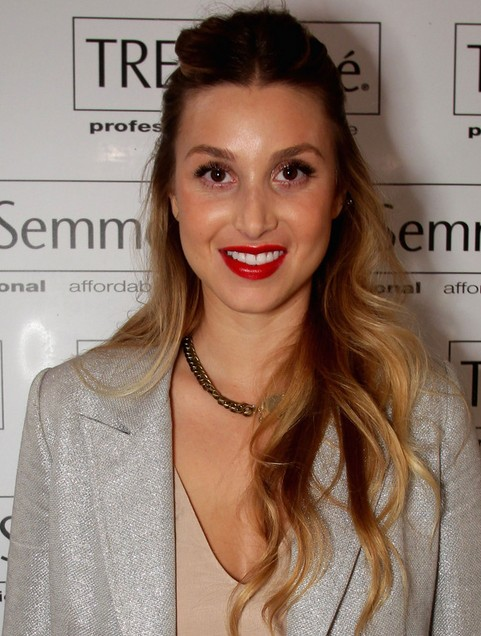 Whitney Port Long Hairstyle: Wavy Hair