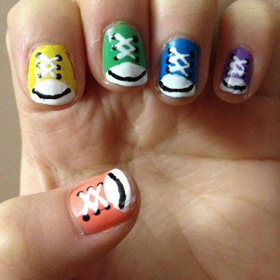 Cute nail designs for beginners pretty designs cute nail designs for short nails prinsesfo Gallery