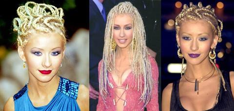 Christina Aguilera Hairstyles: Magical Braids