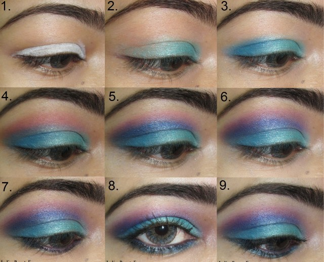 11 Great Makeup Tutorials for Different Occasions: Blue Eyes