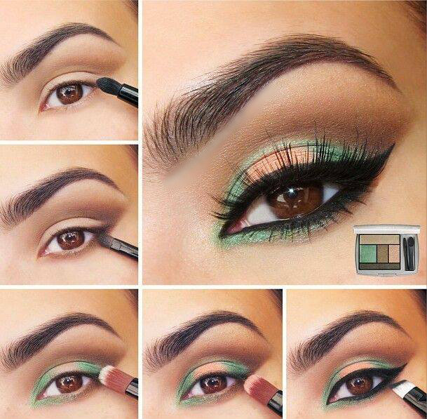 11 Great Makeup Tutorials for Different Occasion: Holiday Look