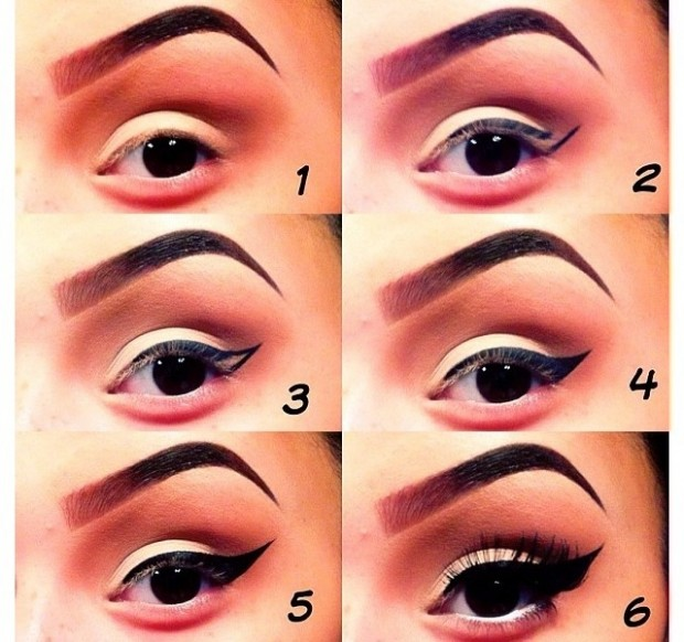 11 Great Makeup Tutorials for Different Occasions: Stylish Eye Liner