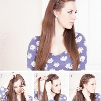 15 Braided Bangs Tutorial: French Braid Fringe