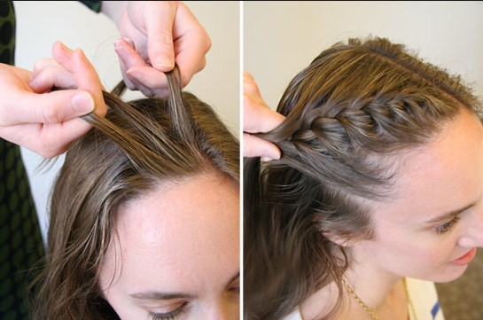 15 Braided Bangs Tutorial: How Do Side French Braids Bangs