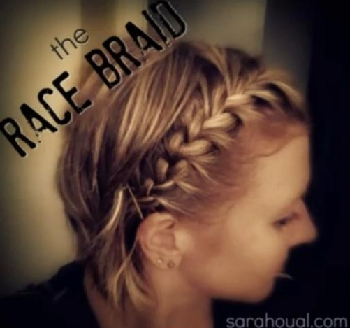 15 Braided Bangs Tutorial: Short Hairstyles for Braid Bangs