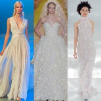25 Fantastic Wedding Dresses From Haute Couture Collection for Spring 2014