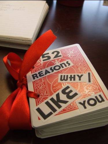 52 Reasons Why I Like You
