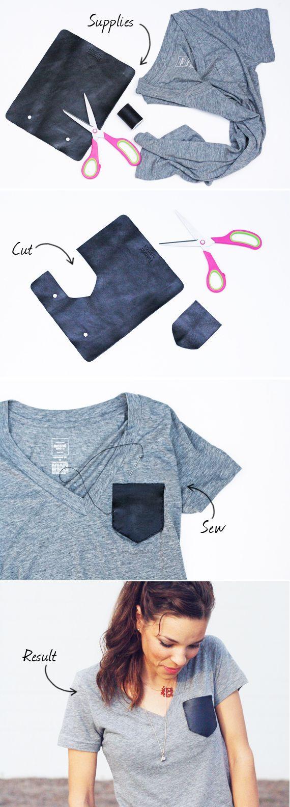A Leather Pocket