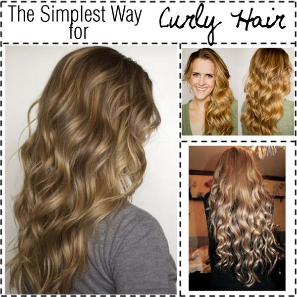 ways to style curly hair at home 15 tutorials for curls without heat pretty designs 2757