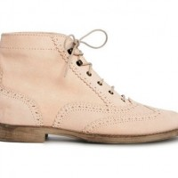 ASOS ATTENTION Suede Lace-up Ankle Boots