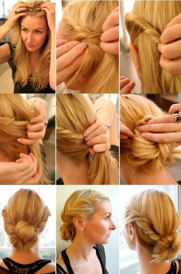 Adorable Hairstyle Tutorials: Elegant Twist
