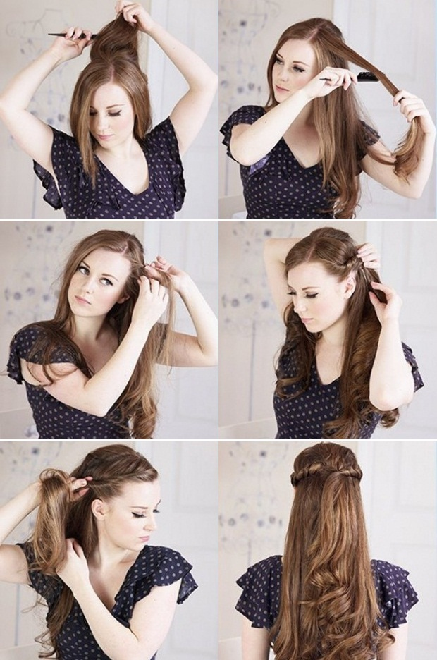 Adorable Hairstyle Tutorials: Princess Twists