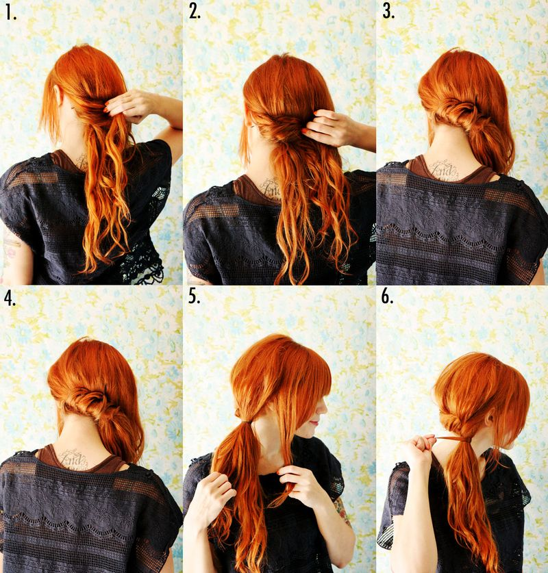 Adorable Hairstyle Tutorials: Stylish Ponytial