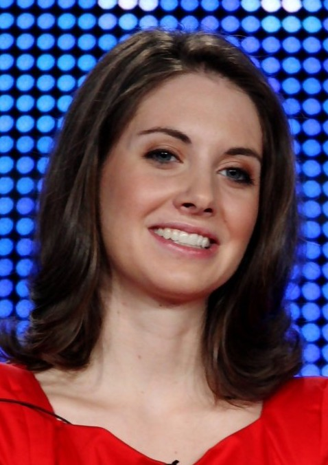 Alison Brie Medium Length Hairstyle: Flippant Hair