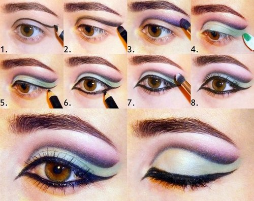 Smoky Eyes Makeup Tutorials: Drastic Makeup