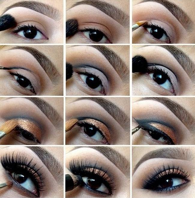 Smoky Eyes Makeup Tutorials: Smoky Ground