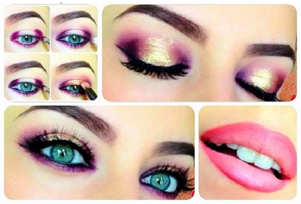 Smoky Eyes Makeup Tutorials: Colorful World