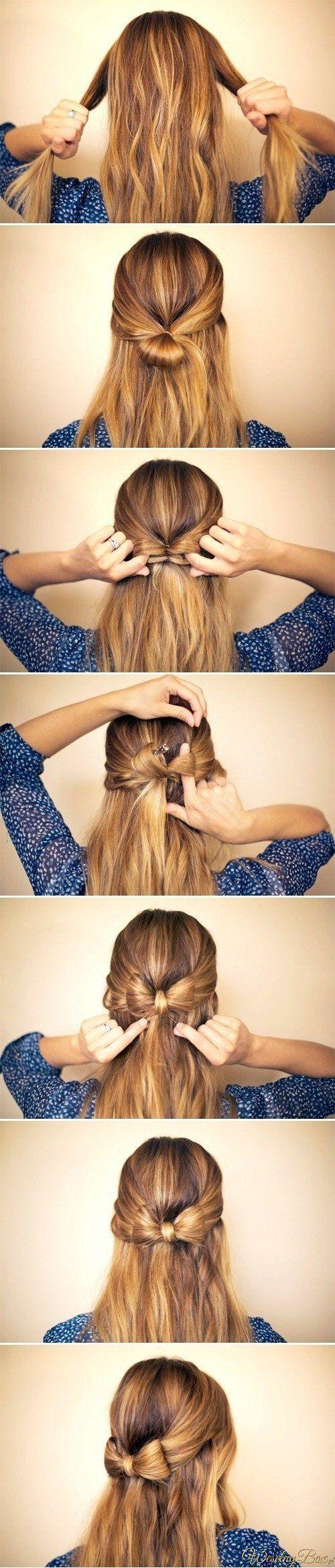 Back Bow Hair