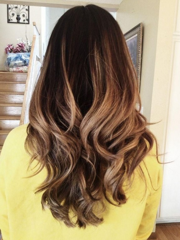 Dark Brown Ombre Straight Hair Tumblr