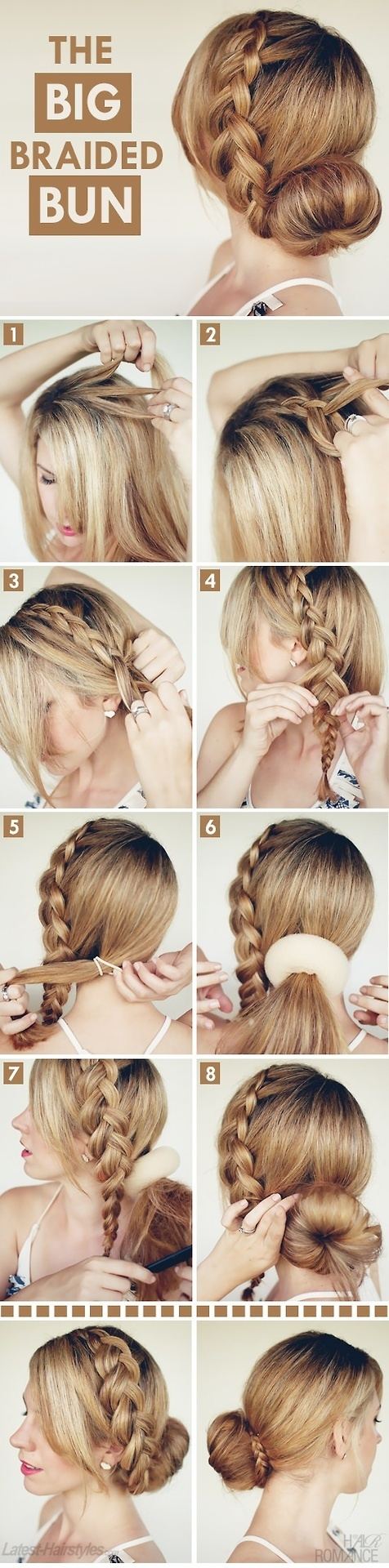15 Stylish Buns For Your Long Hair Pretty Designs