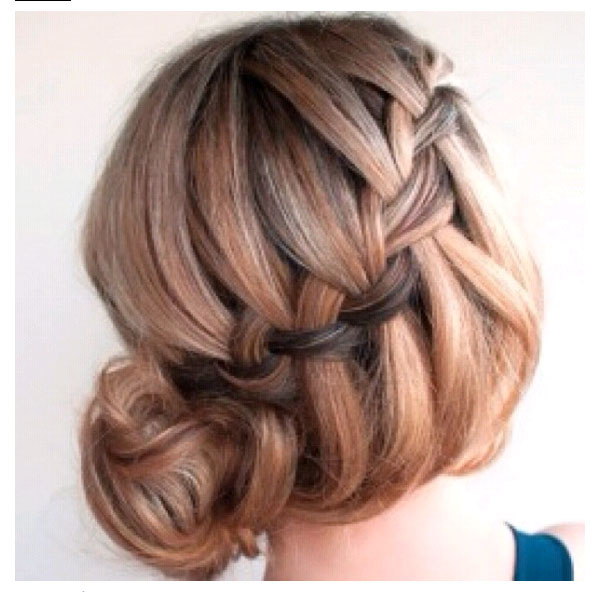 Loose Braided Hairstyles: Cool Bun