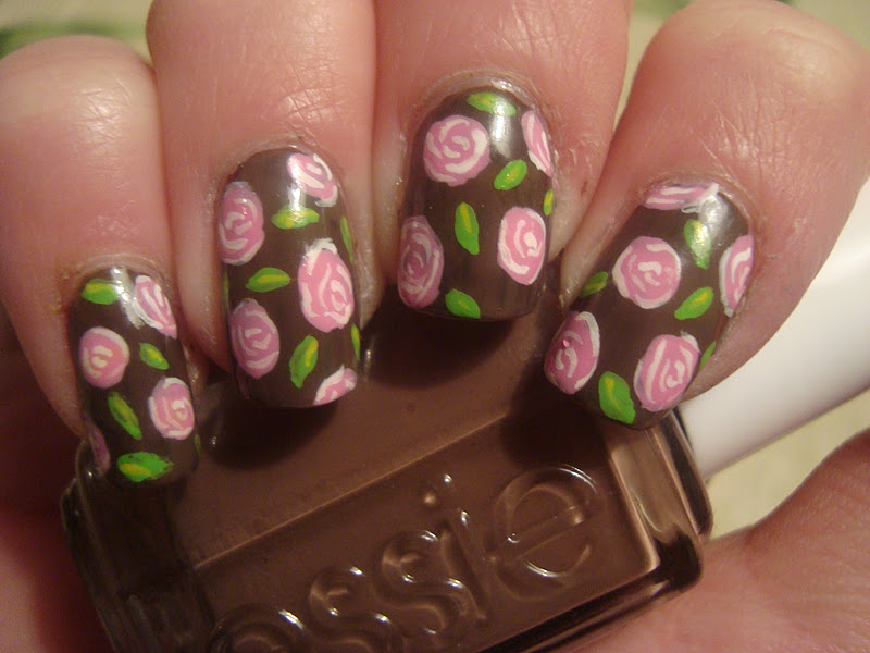 17 flower nail art ideas pretty designs