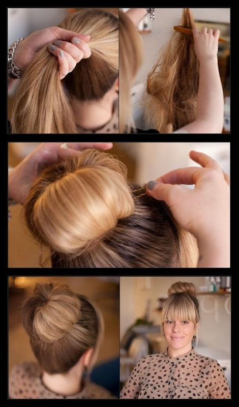 Sensational 15 Stylish Buns For Your Long Hair Pretty Designs Hairstyle Inspiration Daily Dogsangcom