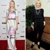 Cate Blanchett Shows Us How to Wear A Crop Top for 30's