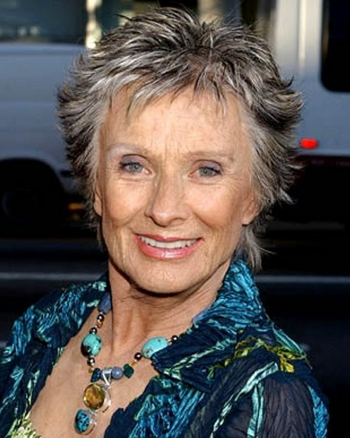 Cloris Leachman Haircut for Women Over 50
