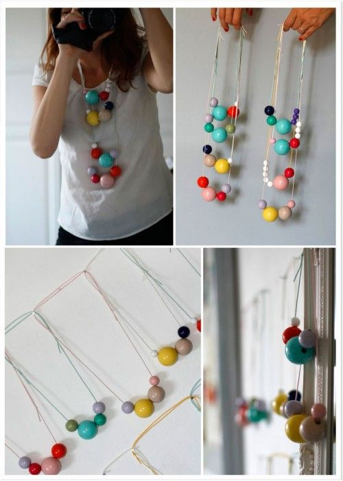 Colorful Bauble Necklace