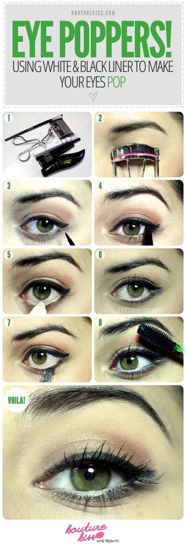 Makeup to make your eyes pop