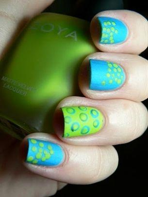 15 polkadot nail arts you won't miss  pretty designs